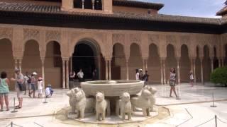 Испания: Гранада - Альгамбра(Full HD качество можно скачать здесь: http://yadi.sk/d/iHedG7hw7xcHB Видео об архитектурно-парковом ансамбле, включающем..., 2013-08-17T09:57:16.000Z)