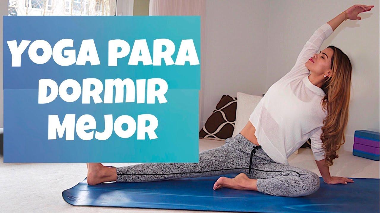 Yoga para dormir mejor liberar estr s relajar tu cuerpo y aquietar tu mente youtube - Relajar cuerpo y mente ...