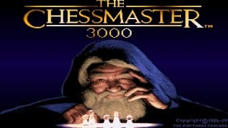 ChessMaster 3000 gameplay (PC Game, 1991)