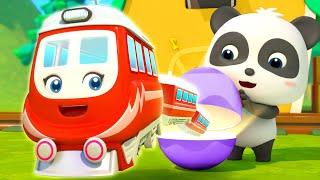 Phù thủy Momo và những quả trứng thần kỳ | Những chuyến tàu vui nhộn | Nhạc thiếu nhi | BabyBus