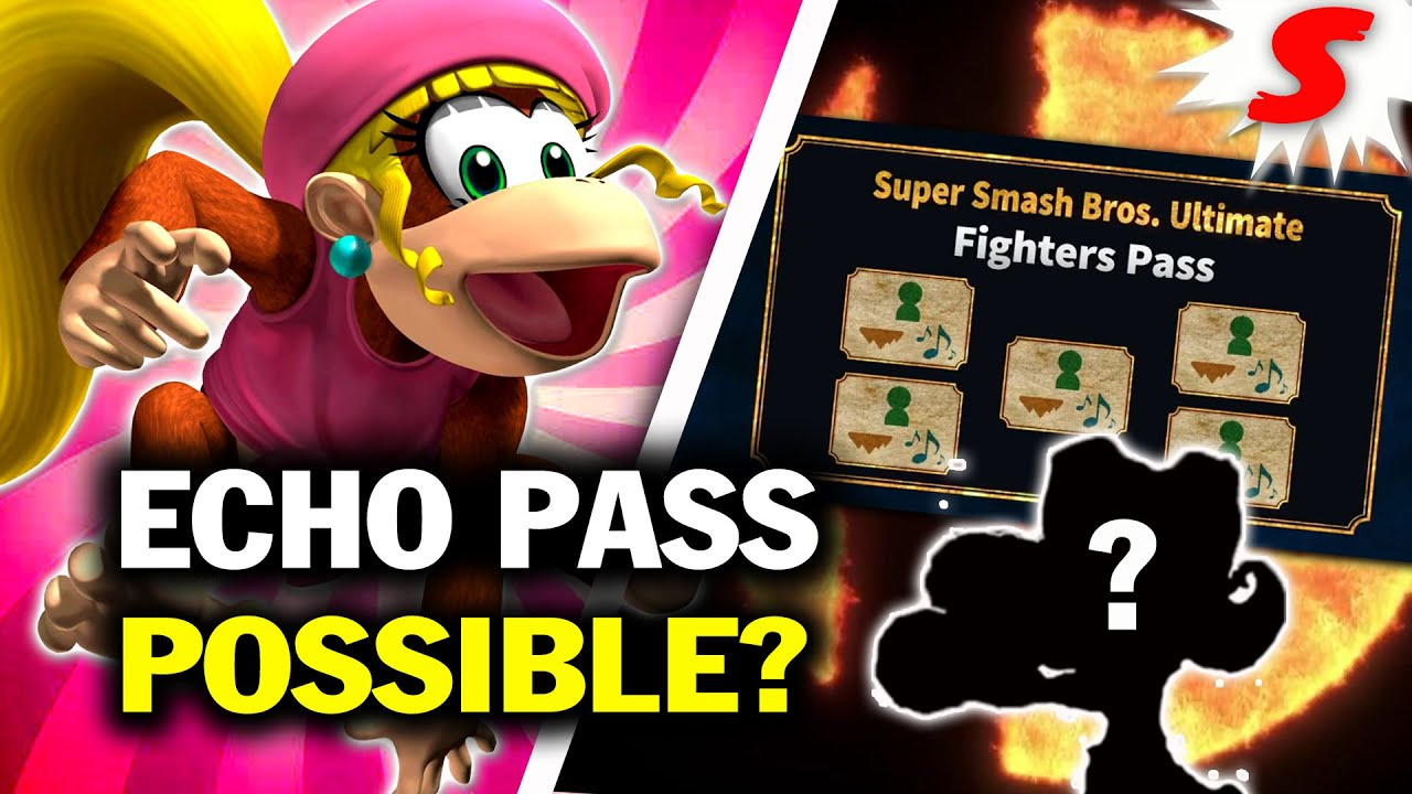 How Would an Echo Fighter Pass Work in Super Smash Bros Ultimate? | Siiroth
