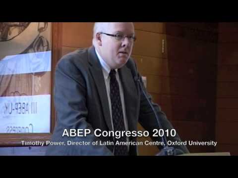 ABEP Congresso 2010 - Timothy Power, Director of Latin American Centre, Oxford University