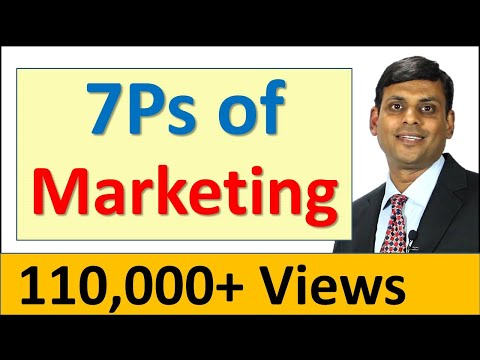 8. 7Ps of Marketing / Marketing Mix for Services - Marketing Lecture by Prof. Vijay Prakash Anand