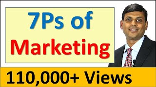 8. 7ps Of Marketing / Marketing Mix For Services - Prof. Vijay P Anand