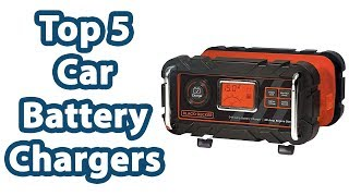 Top 5 Car Battery Chargers  Reviews - Best Car Battery Chargers