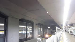名古屋市営地下鉄東山線新栄町駅(入線~発車)2