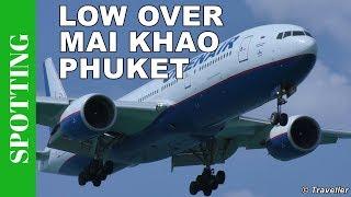 Orenair Boeing 777 - Phuket Airport Spotting, Mai Khao Beach - Phukets Princess Juliana Airport(We are spotting from Mai Khao Beach close to Nai Yang Beach at Phuket International Airport on the island of Phuket in Thailand. Spotting at Phuket Airport is ..., 2016-06-11T11:32:36.000Z)
