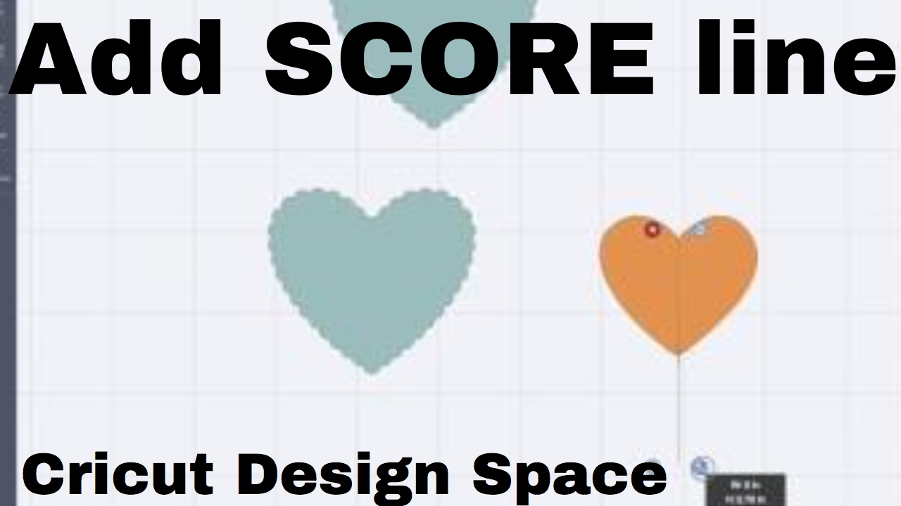 How To Add Score Lines In Cricut Design Space