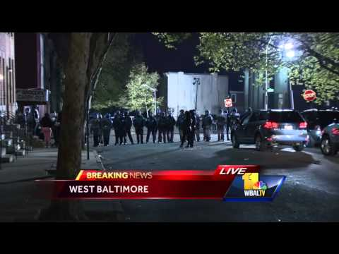 Protesters linger at Western District late into evening
