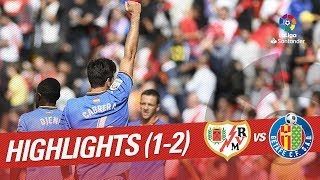Resumen de Rayo Vallecano vs Getafe CF (1-2)