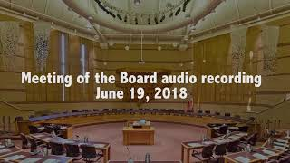 Boardroom Meeting June 19 2018
