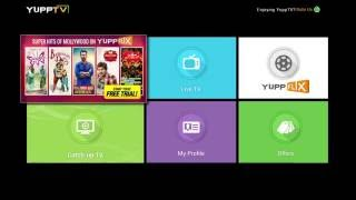 Cómo activar Catch-Up TV en tu YuppTV