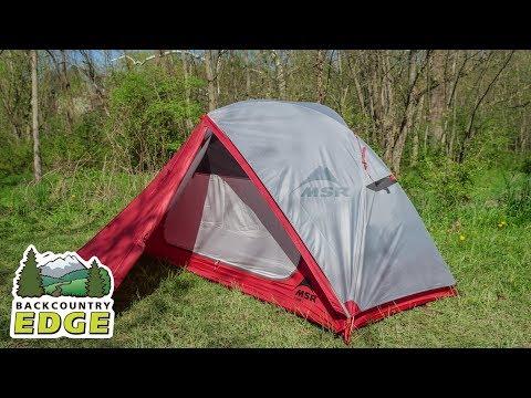 MSR Elixir 1 3-Season Backpacking Tent (with Footprint)