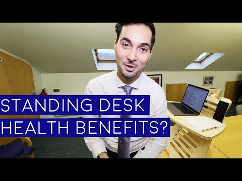 Standing Desk | What Are The Standing Desk Health Benefits (2018)