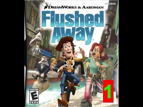 Woody Gets Flushed Away 1 (Toy Story/Flushed Away)