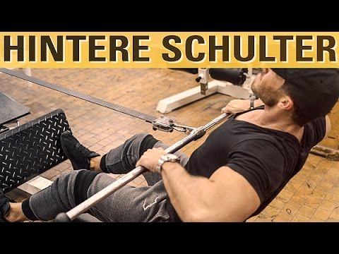 Hintere Schulter trainieren - beste Übungen und häufige Fehler