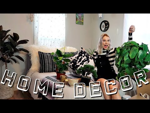 HUGE BOHEMIAN HOME DECOR HAUL! // Boho Bedroom Makeover