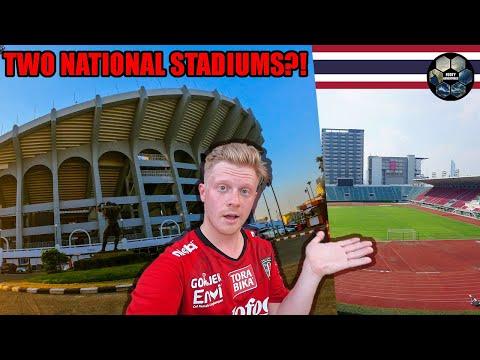 Stadiums in Bangkok! Rajamangala and Suphachalasai National Stadium Reviews. Epic!