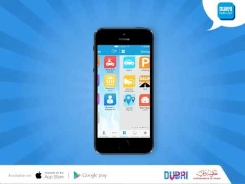 Dubai app animation