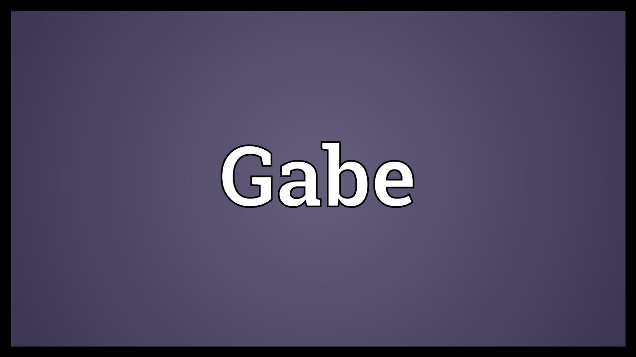 gabriel name meaning urban dictionary