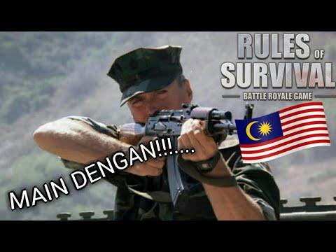 MAIN DENGAN OOHAMI...!!!?? Rules Of Survival [Bahasa Malaysia]