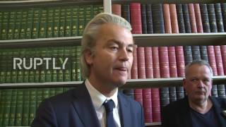 Netherlands: Wilders praises Trump's Executive Orders banning Muslims