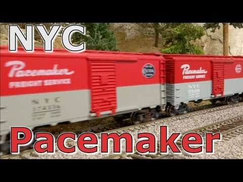 New York Central Pacemaker Freight Service