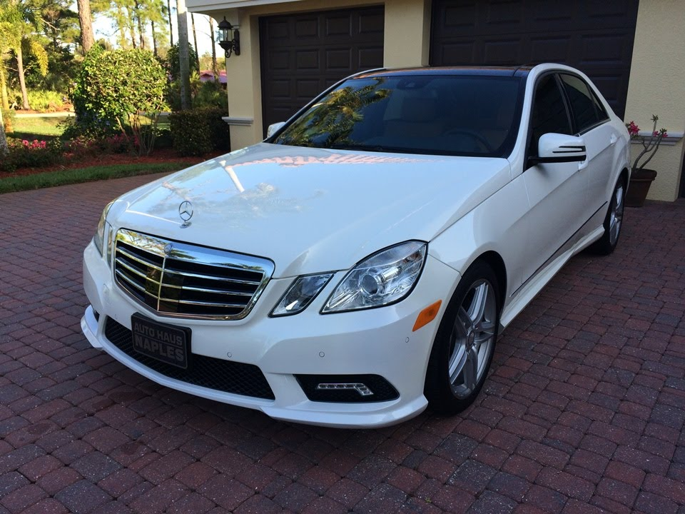 Sold 2011 mercedes benz e550 amg sport sedan for sale by for 2009 mercedes benz e550