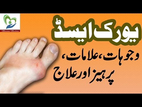 Uric Acid Treatment and Symptoms in Urdu Health and Beauty Tips 2016 thumbnail