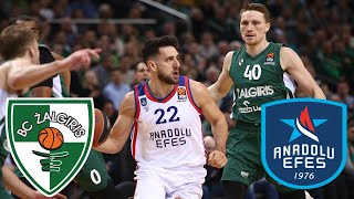 Kaunas Zalgiris vs Anadolu Efes (Euroleague 2020/21) FULL HIGHLIGHTS