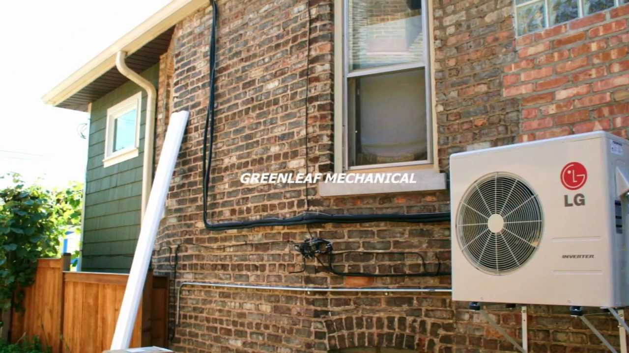 Mini Split Ductless Ac Installation In Chicago Youtube