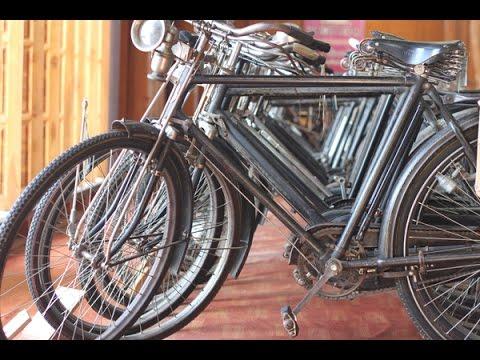 บ้านจักรยานโบราณ 150 คัน! เฮือนรถถีบ อ. เวียงสา จ.น่าน