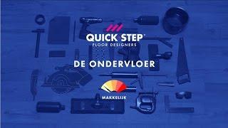 Een ondervloer plaatsen | Quick-Step-tutorial