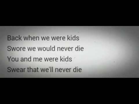 One Republic - Kids.(Lyric Video).