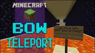 Minecraft: Bow Teleport - RAGE QUIT LEVEL-MAX (Minigame)
