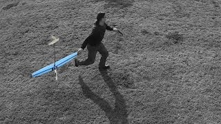Launching The Versus Dlg (discus Launch Glider )