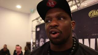 'IM READY TO F*** S*** UP! - I WANT TO SMASH HIS FACE IN' - DILLIAN WHYTE ON LUCAS BROWNE (WEIGH-IN)