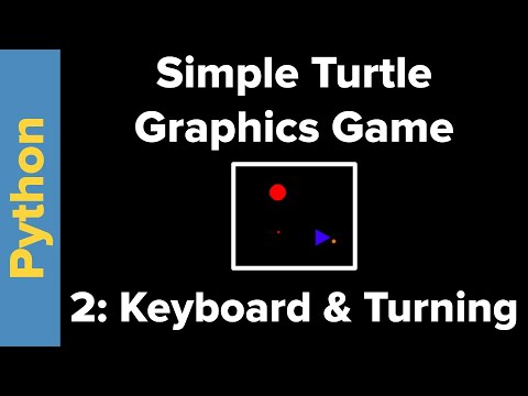 Simple Python Turtle Graphics Game (Part 2)