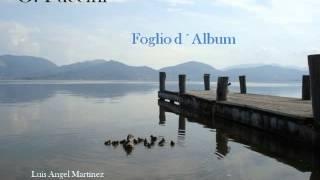 G.Puccini - Foglio d´Album (Luis Angel Martínez - Piano)