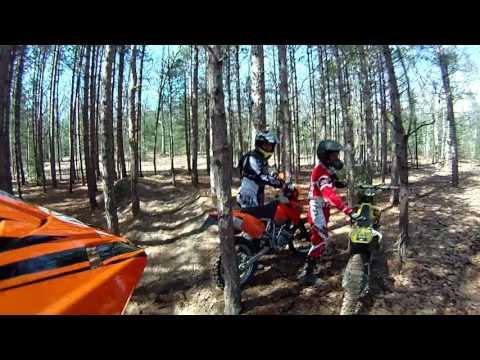Cedar Creek trail twin lake, Mi Apr 1 2017 return