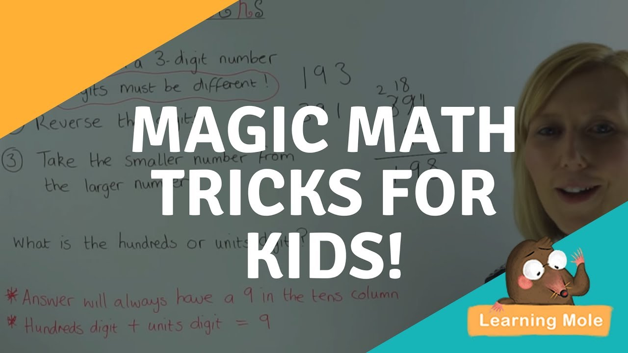 how to make magic tricks for kids