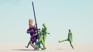 5 ZOMBIES vs ALL UNITS - Totally Accurate Battle Simulator TABS