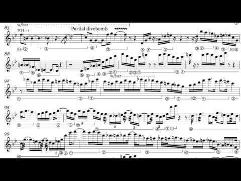 Allan Holdsworth - Devil Take The Hindmost Transcription