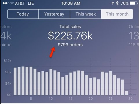 LIVE How We Did 225K In The Deadest Month Of Ecommerce  Shopify Training