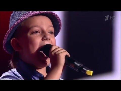 The Voice Kids RU 2016 Arseny — «O Sole Mio» Blind Auditions | Голос Дети 3. А.Соболиков. СП