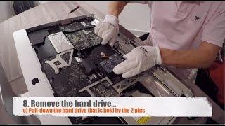 iMac Hard Drive Upgrade to SSD, Full Procedure, iMac late 2009, 2010, 2011, 2012