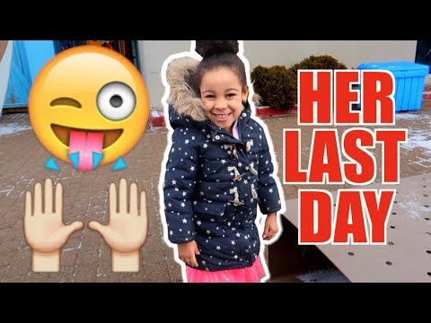 CALI'S LAST DAY OF DAYCARE