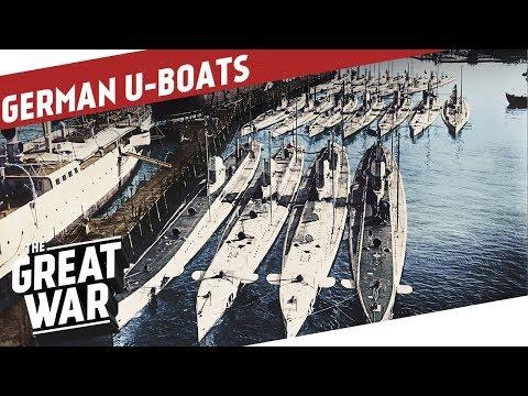 German Submarine Warfare In World War 1 I THE GREAT WAR Special