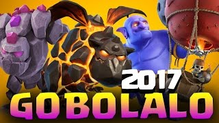 GOBOLALO TH9 ATTACK STRATEGY 2017 | 3 Star Any Base in Clan War | Clash of Clans