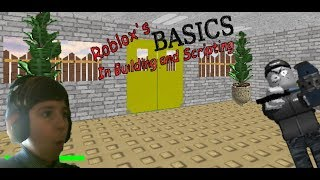 What happens if you join Roblox with Baldi's Basics? -Roblox Basics